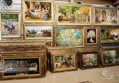نمایشگاه فرش و تابلو فرش خرداد ۹۶