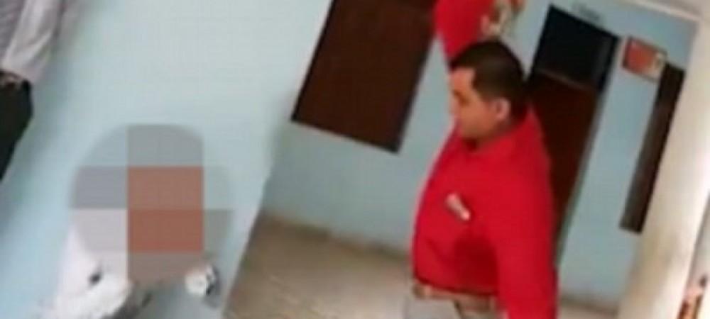 تنبیه وحشیانه دانش آموزان توسط مدیر مدرسه + ویدیو
