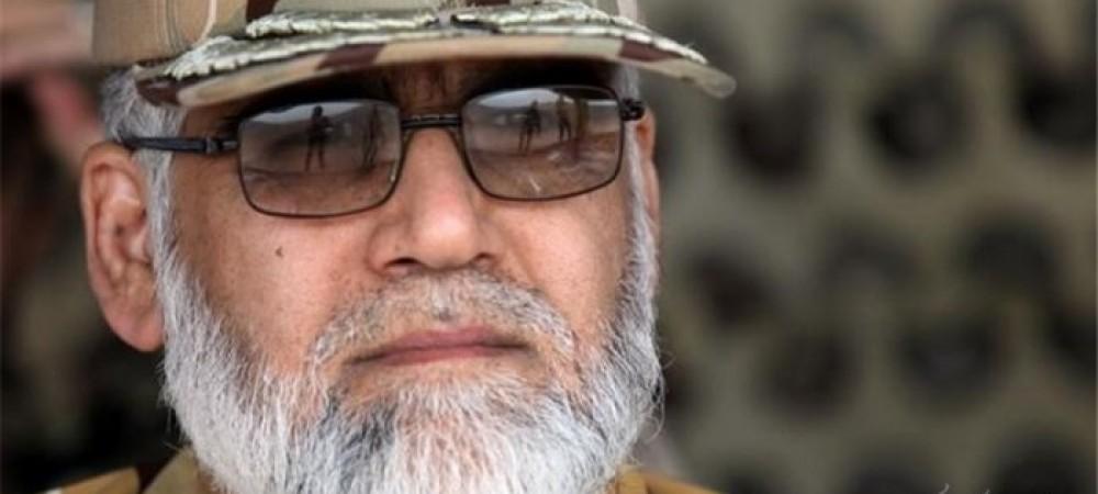 جانشین فرمانده کل ارتش امیر پوردستان در پیامی شهادت محسن حججی را تسلیت گفت