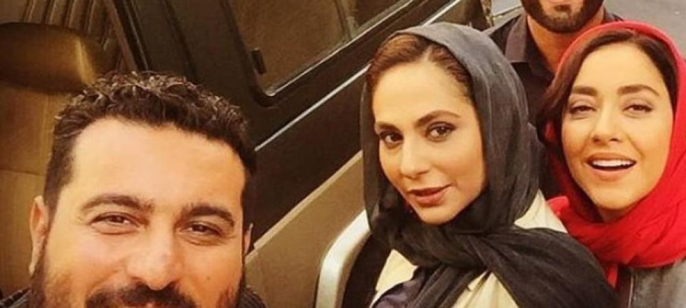 """تولد محسن كیایی در پشت صحنه فیلم سینمایی """"لونه زنبور"""" + ویدیو"""