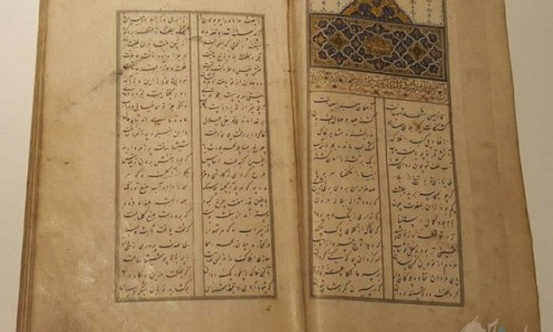 حماسه کربلا را در موزه ملی ایران به نمایش درامده است