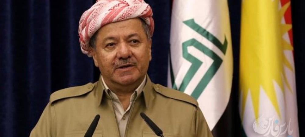 بارزانی کردهای سراسر جهان را به تظاهرات در حمایت از اقلیم کردستان فراخواند