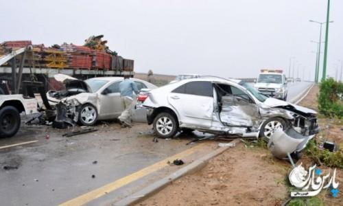تصادف خودرو حامل دانش آموزان کوهدشت تاکنون 1 کشته و 9 مجروح