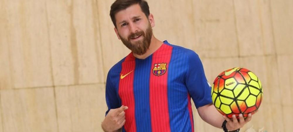 بدل ایرانی مسی خیابان های بارسلونا را به هم ریخت