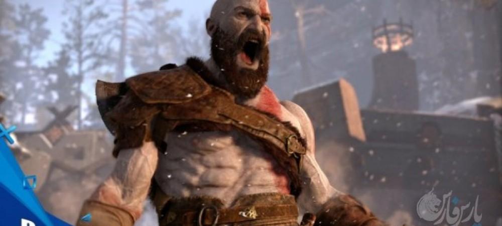 معرفی تریلر جدید از گیم پلی بازی خدای جنگ(god of war) از شرکت سونی+ویدئو
