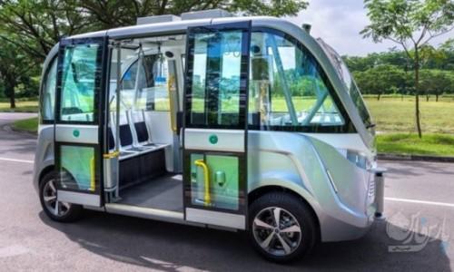 راه اندازی اتوبوسهای بدون راننده در سنگاپور+عکس