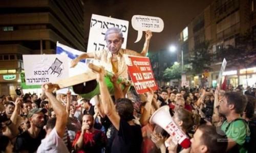 هزاران نفر در فلسطین اشغالی با برپایی تظاهرات خواستار استعفای نتانیاهو شدند
