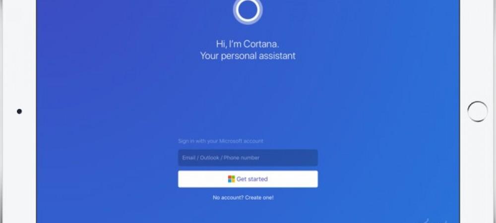 مایکروسافت کورتانا هم اکنون در دسترس کاربران آیپد