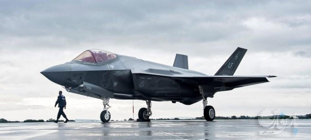 فرود عمودی جنگنده F35
