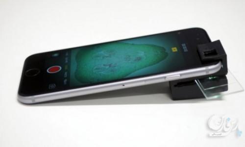 میکروسکوپ چاپ سهبعدی برای گوشیهای هوشمند