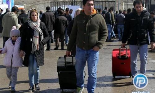هجوم گردشگران ایرانی، موجب ازدحام در مبادی ورودی ترکیه شد