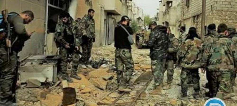 تسلیم شدن تروریستها در غوطه شرقی دمشق