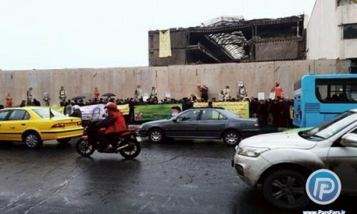 کلنگ احداث ساختمان پلاسکو به زمین خورد