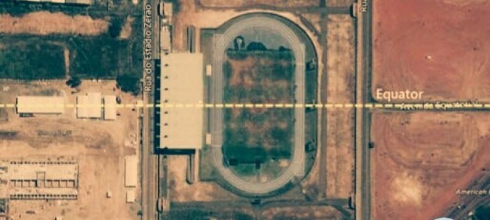 استادیومی عجیب در دو نیم کره زمین در برزیل
