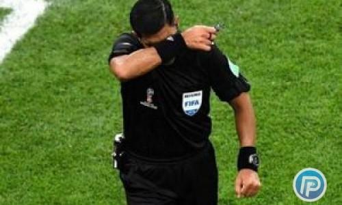 نمره ضعیف برای داور بازی ایران و پرتغال