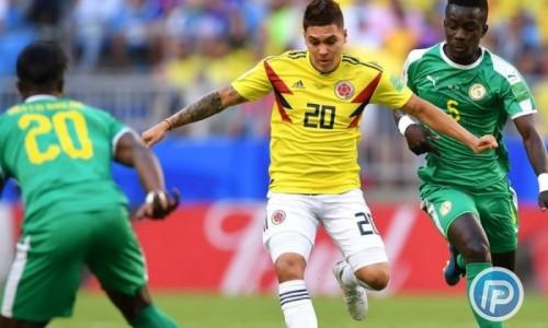 """کلمبیا و سنگال مساوی به رختکن رفتند/ خامس مصدوم شد، """"VAR"""" به داد کلمبیا رسید"""