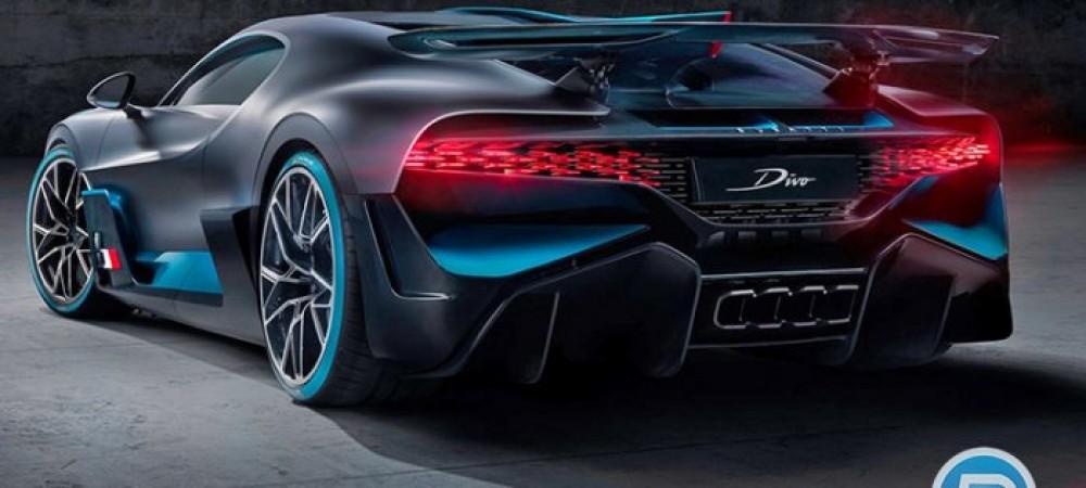 ابر خودروی جدید بوگاتی معرفی شد