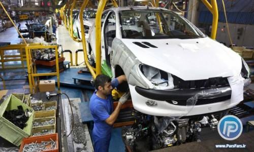 تولید خودروسازان در مردادماه ۳۸ درصد کاهش یافته است