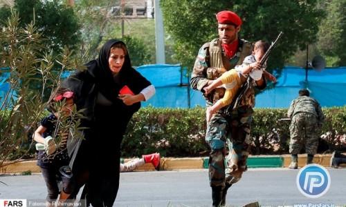 حمله تروریستی اهواز ترقه بازی بود