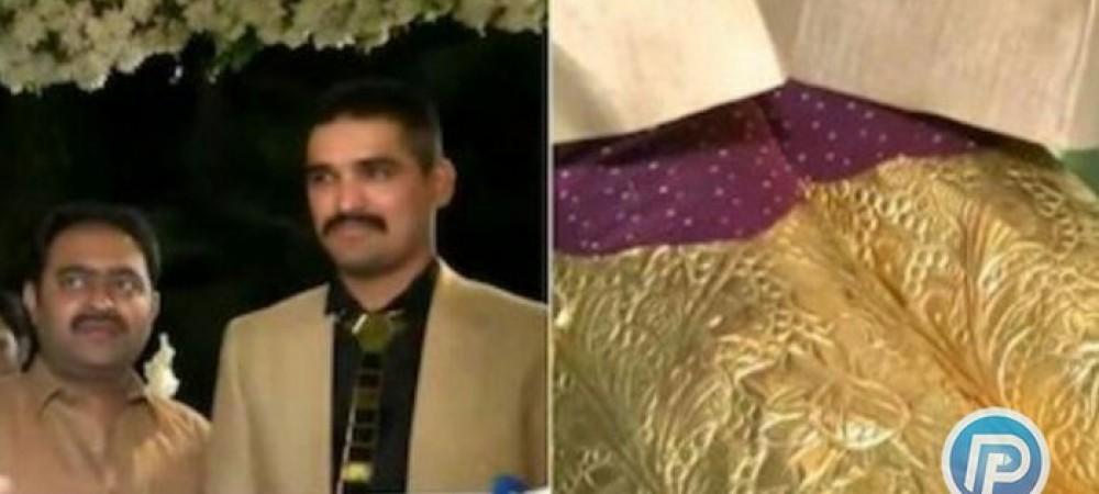 داماد پاکستانی با کفش طلای خود خبرساز شد
