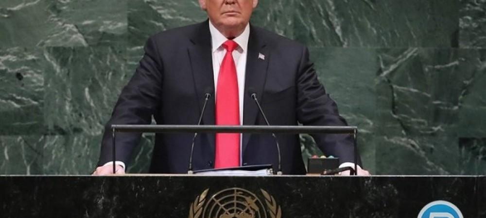 اظهارات ضد ایرانی ترامپ :رهبران ایران اختلاس گرند و مردم ایران تاوان رهبران سودجوی خود را میدهند.