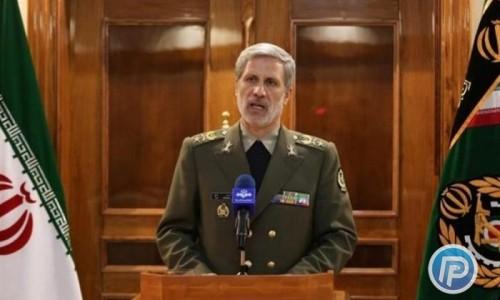 وزیر دفاع به اتهامزنی جدید آمریکا به ایران درباره یمن واکنش نشان داد