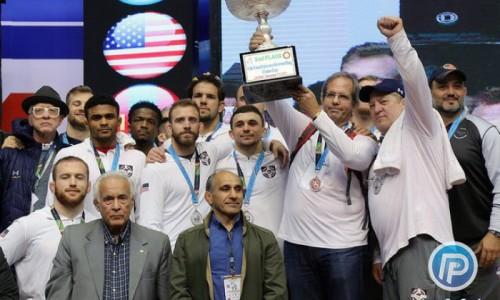 تیم تایتان مرکوری آمریکا غایب رقابتهای کشتی آزاد باشگاههای جهان در ایران