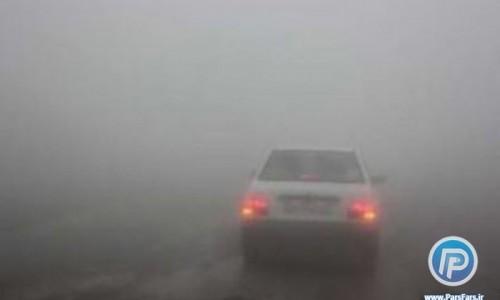 آخرین وضعیت راههای کشور: مه گرفتگی و کاهش دید