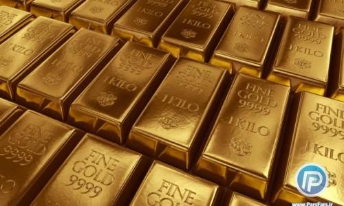 صعود قیمت طلا در بازار جهانی به بالاترین حد در سه هفته گذشته