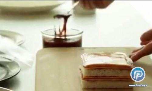 ساندویچ پر آوازه فرانسوی برای عصرانه