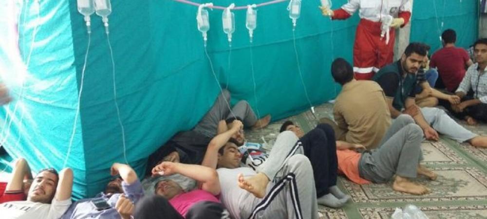 مسمومیت 300 دانشجوی دانشگاه یزد